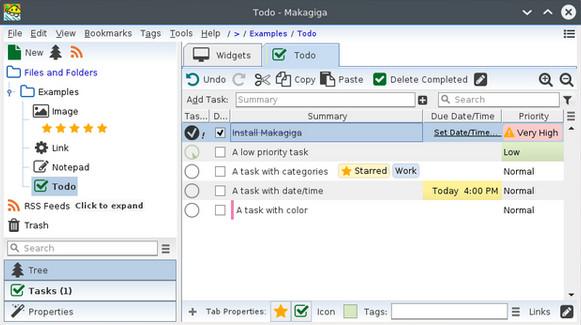 Makagiga(个人信息桌面管理软件) v5.6官方版