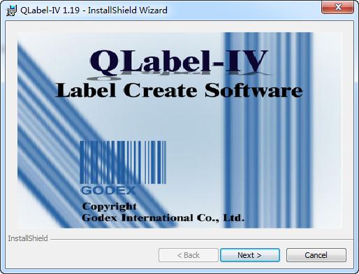 QLabel(条码标记软件)