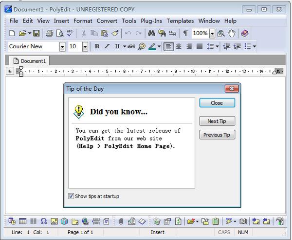 PolyEdit(文字处理工具) v5.4官方版