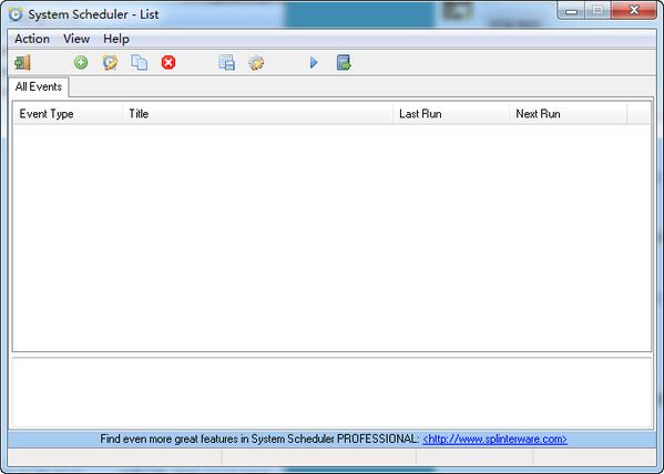 System Scheduler(日程管理软件)