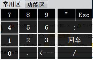 数字键屏幕键盘...