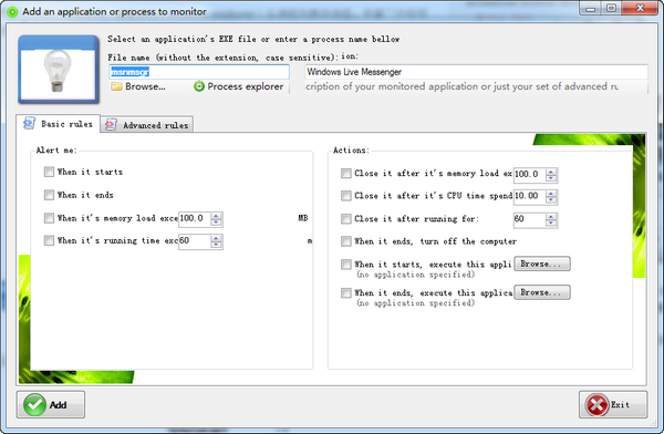 Kiwi Application Restarter(应用程序重启)