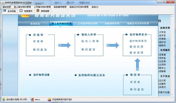 宏达船舶机务管理系统