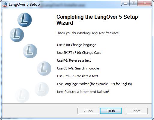 LangOver(快速翻译软件)