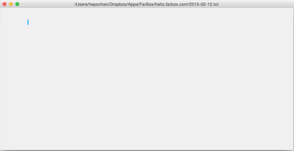 Farbox Editor(博文编辑器)