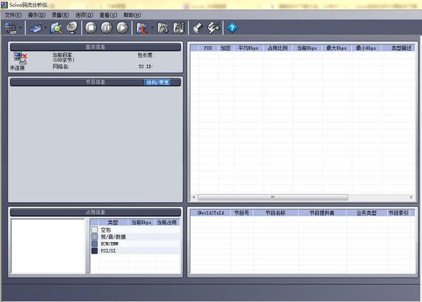 scivo码流分析软件