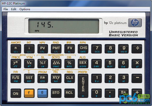 HP-12C计算器 PC版
