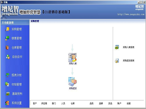 增尼智进销存软件 v6.0官方版
