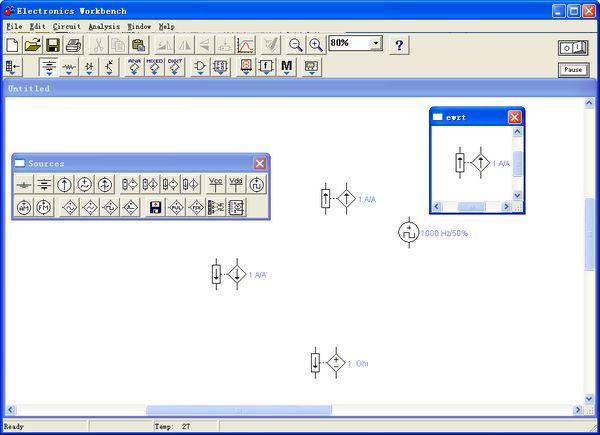 电子电路仿真软件Electronic Workbench