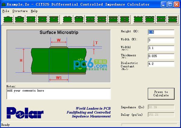 阻抗计算软件(CITS25)