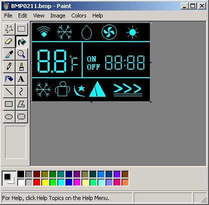 LCD图形编辑器