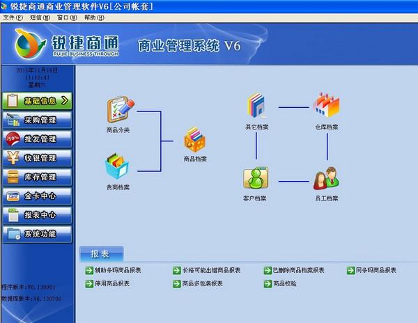 锐捷商通商业管理系统 v6