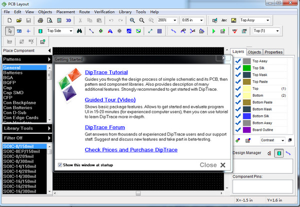 PCB设计软件(DipTrace)