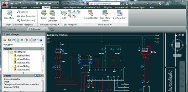 电力控制系统设计(Autodesk AutoCAD Electrical) v2017官