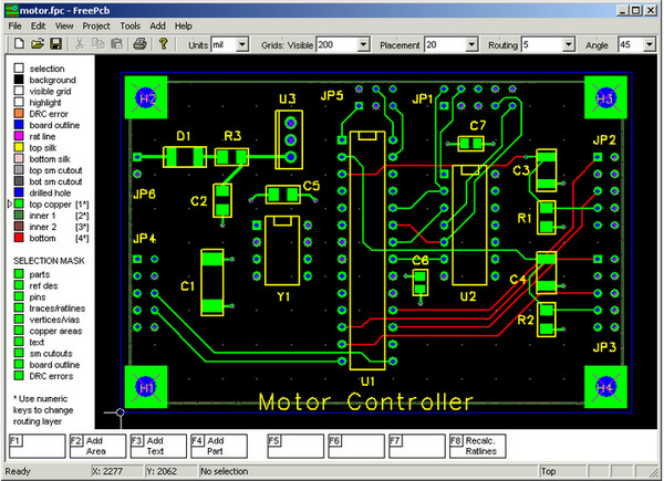 PCB版图设计工具...