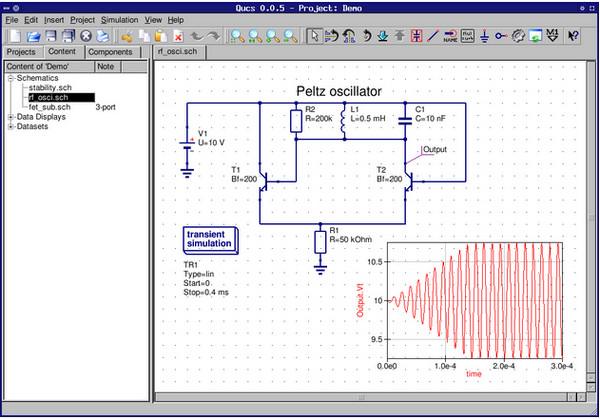 电路模拟器(Qucs) v0.019官方版