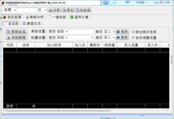 趋势操盘策略分析软件