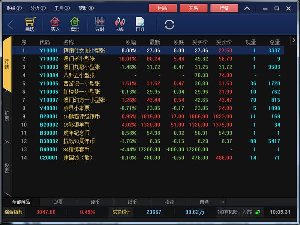 广顺钱币邮票交易中心客户端 v6.0.87.3官方版