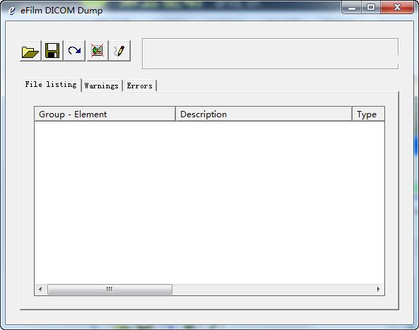 eFilm DICOM Dump(医学图像浏览器)