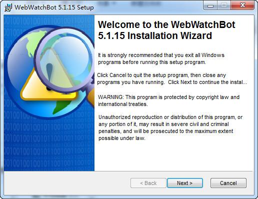 WebWatchBot web...