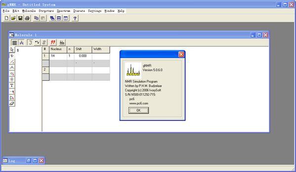 gNMR(波谱模拟) V5.0.6