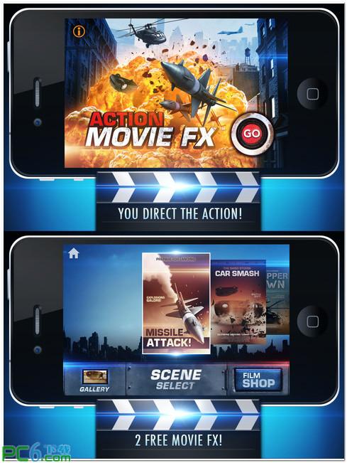 iphone4动作电影特效软件 1