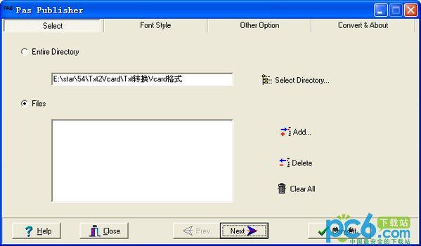Pas Publisher V1.0