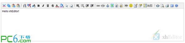 xhEditor(可视化XHTML编辑器) V1.2.1