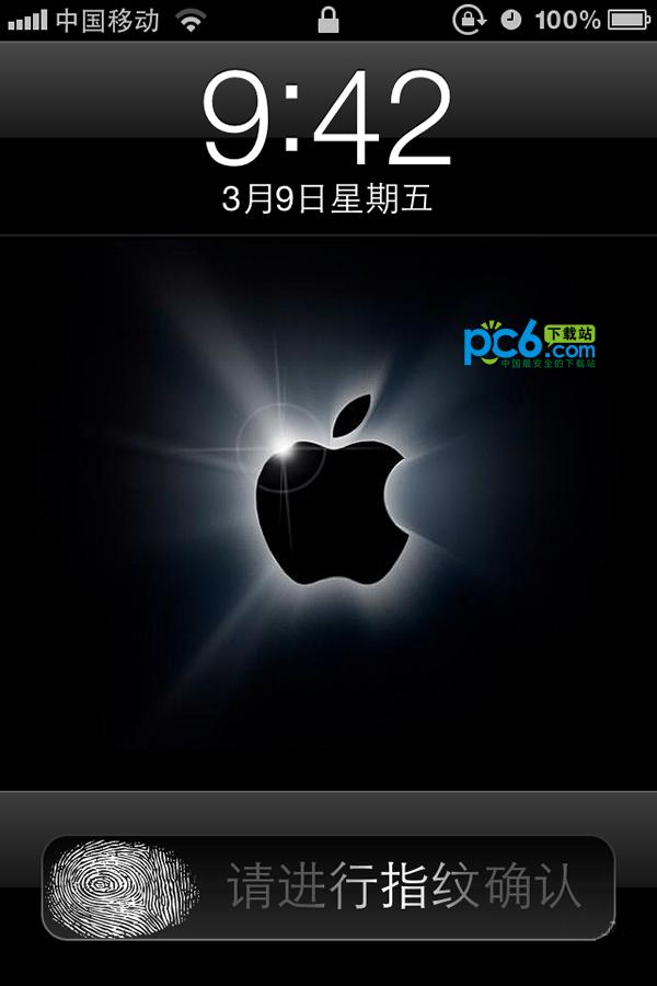 iphone4指纹解锁...