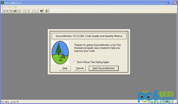 代码测试工具SourceMonitor v3.3.2绿色版