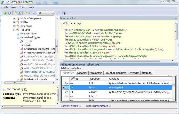 .NET程序编辑器(Reflexil)