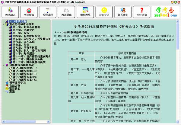 注册资产评估师考试-财务会计通关宝典 2014 Build 0630