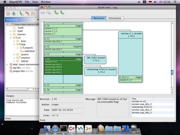 SmartCVS(CVS版本控制器) v7.1.8 免费版