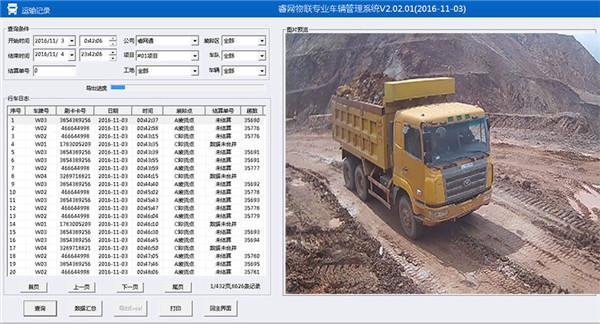 睿网物联车辆自动计数管理系统 2.02.01 官方版