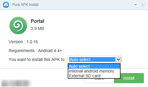 pure apk install(应用安装器)