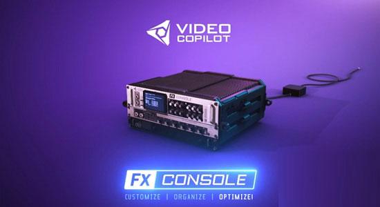 FX Console(AE工作流程插件)