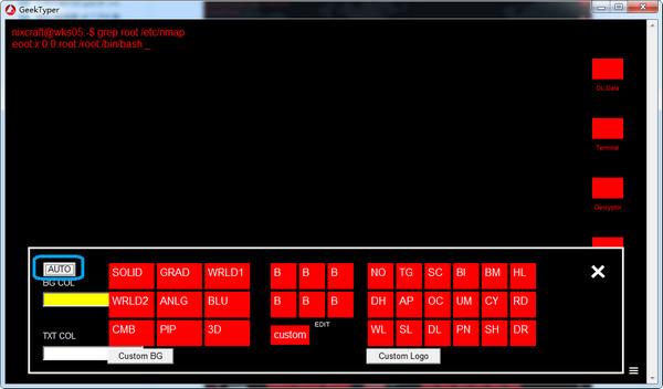 geektyper(模拟黑客软件) 1.0官方版