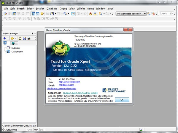 toad for oracle v12.1 32位&64位绿色版
