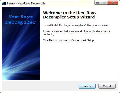 Hex-Rays(反编译工具)