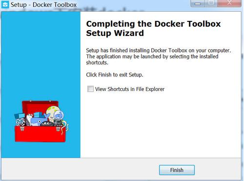 docker toolbox ...