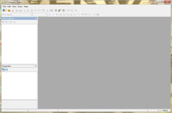 vce designer demo v2.3
