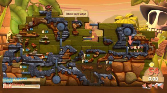 《百战天虫:部落战争》