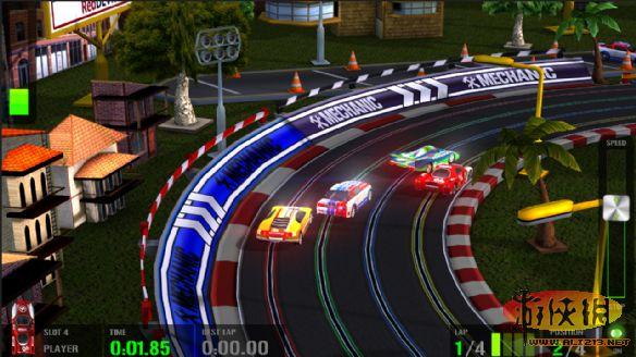 《高科技赛车:轨道赛车模拟》