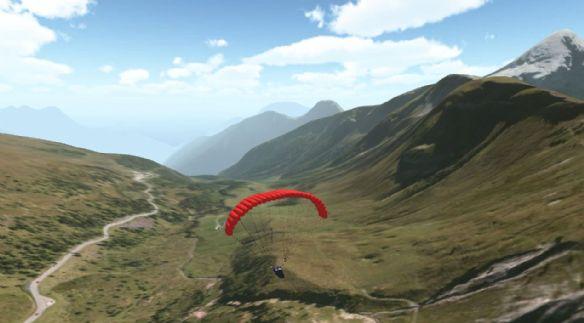 《3D滑翔降落伞》