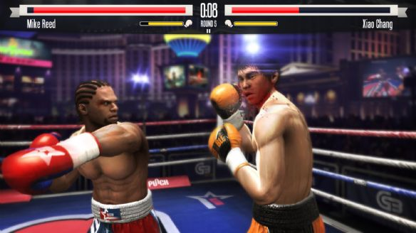 《真实拳击》