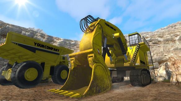 《模拟挖掘机》