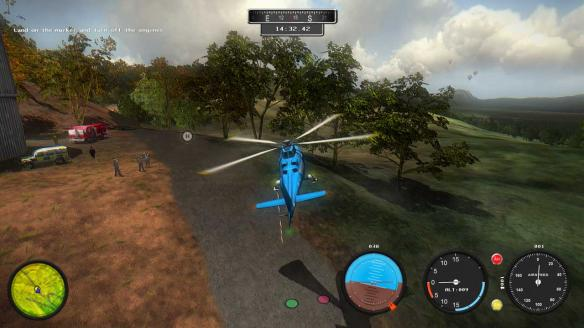 《直升机模拟2014:搜索与救援》