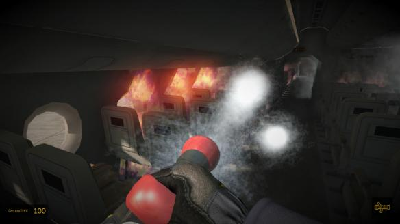 《机场消防人员模拟》