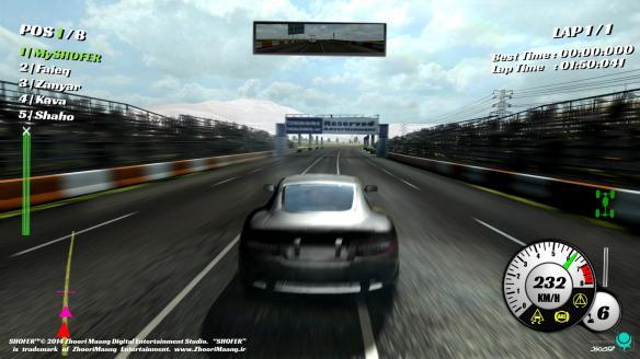 《极速车手》