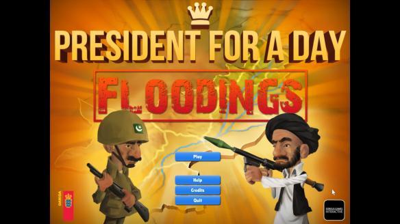 《一日总统-水灾》